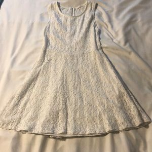 Tea n rose white lace dress